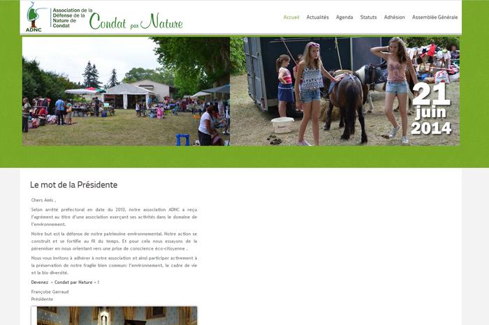 ADNC Site Web