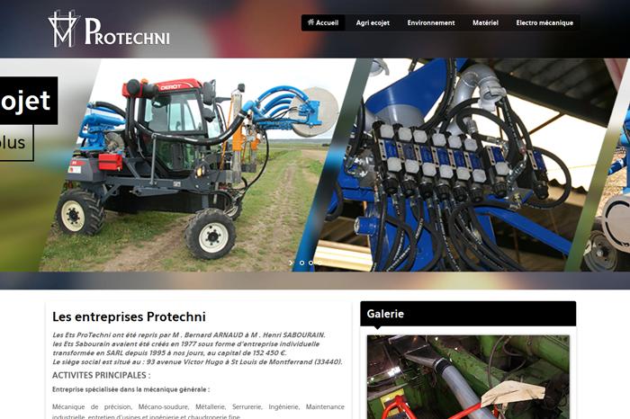 Protechni Site Internet